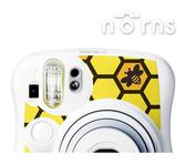 【Honey Yellow】Norns MINI25 專用FUJIFILM日本富士原廠拍立得相機機身貼紙