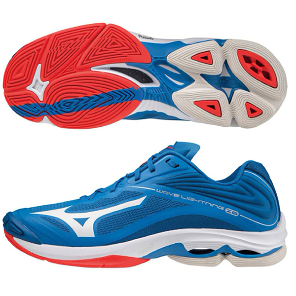 MIZUNO WAVE LIGHTNING Z6 男鞋 排球 緩震 止滑 透氣 藍【運動世界】 V1GA200024
