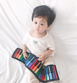 藍墨(blue ink)手卷鋼琴 電子琴 49鍵兒童練習便攜式多功能