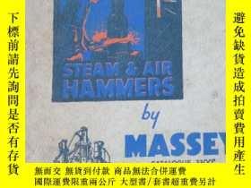 二手書博民逛書店STEAM罕見AIR HAMMERS BY MASSEY 蒸汽空