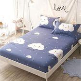 棉質床笠單件棉質床罩1.5m1.8m防滑防塵床套定做席夢思床墊保護套【寶貝開學季】