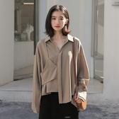雪紡襯衫女設計感小眾復古港味襯衣2020年春季新款法式上衣學生潮 居享優品