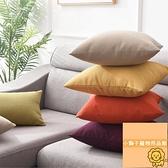抱枕客廳沙發靠墊床頭靠枕椅子靠背辦公室腰枕【小獅子】