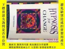 二手書博民逛書店Hypnosis罕見for Change(Third Editi