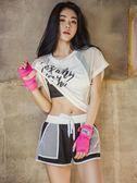 健身房運動套裝女 新款夏季速干性感韓國專業跑步瑜伽健身服