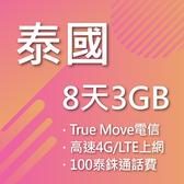 泰國八日4G網路卡含通話True Move電信公司曼谷、清邁、芭達雅、普吉島