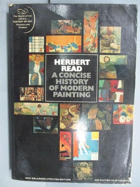 【書寶二手書T2/藝術_NSD】A Concise History of Modern Painting