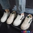 小白鞋 小白鞋女平底學生百搭網紅2021春秋季新款老爹鞋潮運動板鞋冬 寶貝計畫 618狂歡