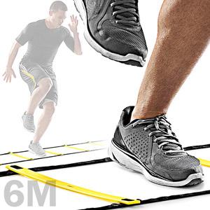 加厚QUICK LADDER靈敏步伐梯6M敏捷梯.跳格步梯6米速度梯繩梯能量梯.田徑跑步足球訓練梯子推薦
