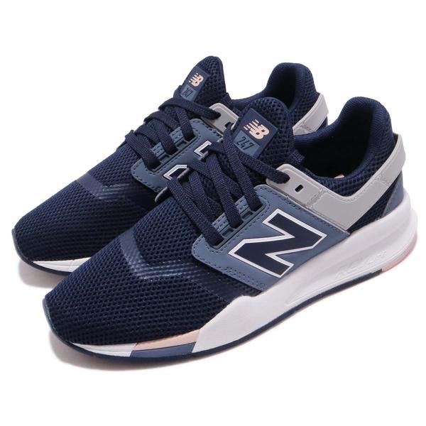 New Balance 復古休閒 女鞋 深藍色NO.WS247TRF