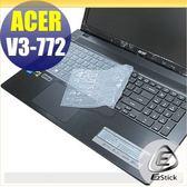 【EZstick】ACER Aspire V3-772 V3-772G 系列專用 矽膠鍵盤保護膜