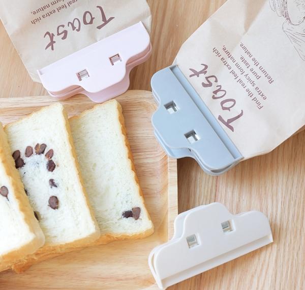 King*Shop----2280家用食品食物密封夾 塑料袋封口夾奶粉茶葉零食袋密封夾子
