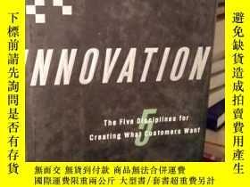 二手書博民逛書店Innovation:罕見The Five Discipline