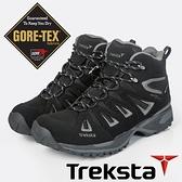 【Treksta 韓國】Nevado Lace Mid 男 GTX 防水中筒健行鞋『黑灰』KR21AM 多功能鞋.登山鞋.Gore-Tex