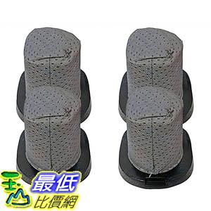 [106美國直購] 4 Dirt Devil Style F25 Filters; Compare to Dirt Devil Part Nos. 2SV1102000, 3SV0980000