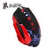 【超人生活百貨】KINYO S-ETAS決鬥者電競滑鼠 GKM-810 炫彩LED呼吸燈光 鍍金升級 傳輸超高速