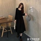 舒適洋裝 法式小眾秋季洋裝女秋裝2020年新款裙子收腰顯瘦秋冬氣質長裙 快意購物網