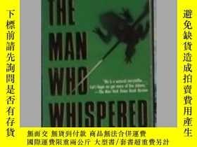 二手書博民逛書店英文原版罕見The Man Who Whispered by R