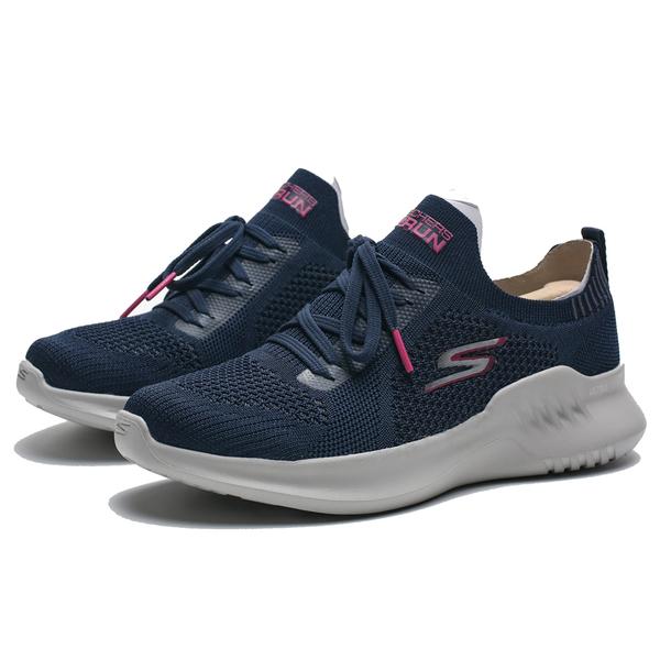SKECHERS GO RUN MOJO 2.0 TINKER 深藍 襪套 編織 慢跑鞋 女 (布魯克林) 16049NVPK