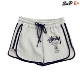 【伊人閣】女短褲 韓版 寬鬆 顯瘦 鬆緊腰 純棉 運動短褲 休閒 熱褲