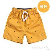 童裝男童短褲夏季薄款外穿中大童中褲兒童褲子夏裝休閒五分褲『CR水晶鞋坊』