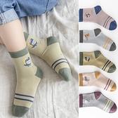 兒童襪子純棉四季款男孩秋冬棉襪男童無骨小孩子中大童春秋季童襪