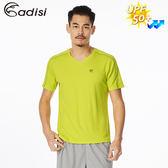 ADISI 男智能纖維急速乾抗UV短袖上衣AL1811045 (S~2XL) / 城市綠洲專賣(抗紫外線、吸濕排汗、透氣快乾)