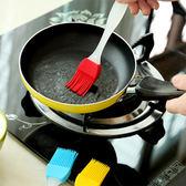 廚房用品 配色矽膠 廚房烘焙可拆式點心刷 17x3cm 蛋黃刷  【KFS089】123ok