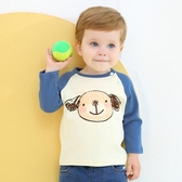 兒童秋季T恤預齊齊熊男童長袖T恤秋新款嬰兒純棉打底衫童裝兒童寶寶上衣 限時特惠
