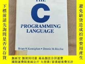 二手書博民逛書店The罕見C Programming Language 普通規劃語言Y11026 Brian W. Kerni