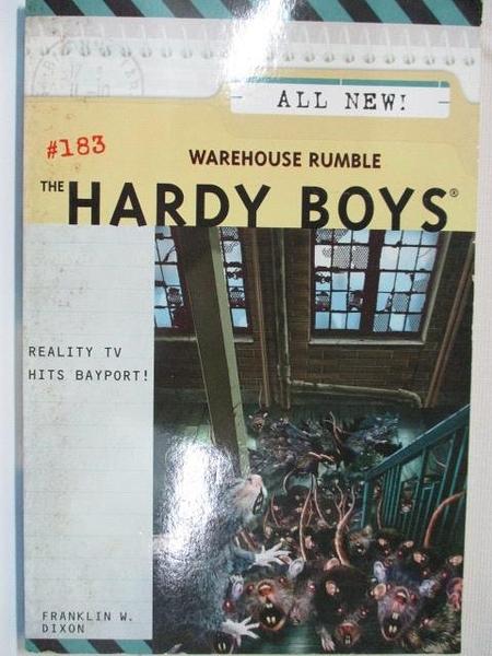 【書寶二手書T1/原文小說_AYA】The Hardy Boys #183 Warehouse Rumble