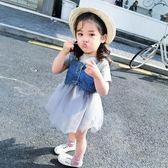 618好康又一發 休閒兒童連衣裙套裝女寶寶夏季公主裙子1-5歲