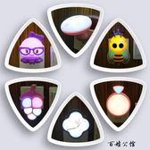 迷你兒童房小夜燈創意夢幻插電床頭燈