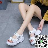 款舒軟底女學生夏季防滑平底運動休涼鞋