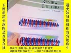 二手書博民逛書店Physical罕見Review Letters Volume