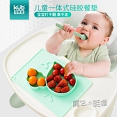 可優比寶寶餐盤分格盤吸盤式碗輔食碗嬰兒吸盤碗矽膠餐墊兒童餐具  ATF  魔法鞋櫃