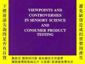 二手書博民逛書店Viewpoints罕見and Controversies in Sensory Science and Cons