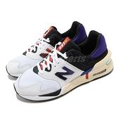 【六折特賣】New Balance 休閒鞋 997 NB 白 藍 男鞋 女鞋 復古慢跑鞋 運動鞋【ACS】 MS997JEAD