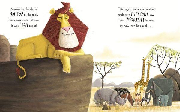 【自信心的培養】THE LION INSIDE /硬頁書《主題: 品格教育.幽默》插畫家:Jim Field