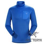 男 Rho AR 刷毛內層套頭衫 (採用美國 POLARTEC POWER STRETCH®布料)『參宿藍』L06902