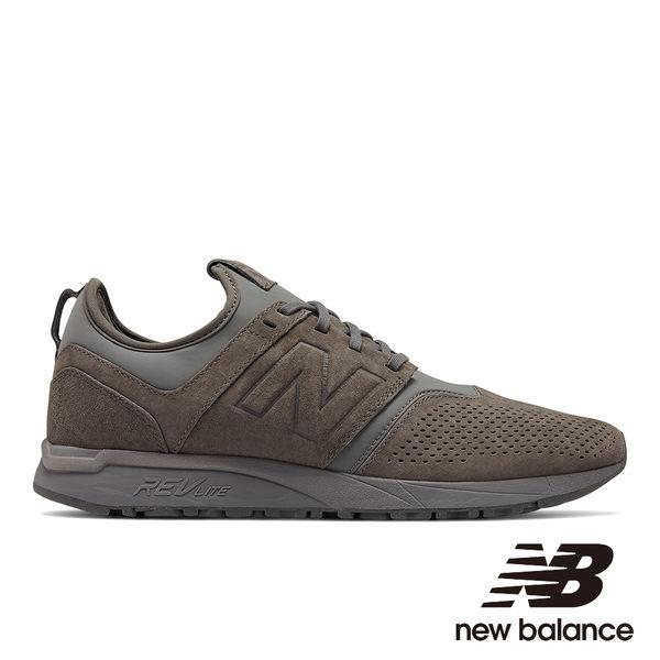 【New Balance】 247復古鞋 MRL247CA-D 中性 灰色(請參考男性尺碼)
