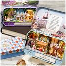 《不囉唆》DIY手工房子 盒子劇場 (可挑色/款) 娃娃屋 袖珍屋 模型屋 手工藝【A432876】