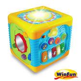 WinFun 五合一音樂智慧盒 益智聲光玩具 07418 好娃娃