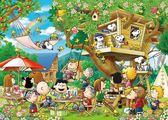 【拼圖總動員 PUZZLE STORY】樹屋派對 日本進口拼圖/Epoch/史努比/3000P/迷你