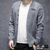 『潮段班』【HJ000163】韓國秋冬新款針織外套毛衣日系簡約上衣外套