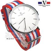 valentino coupeau PARIS 范倫鐵諾 異國風情 英倫情人 指針錶 防水手錶 中性錶 女錶 男錶 V61349RBW銀