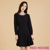 RED HOUSE-蕾赫斯-華麗珠飾魚尾洋裝(共2色)