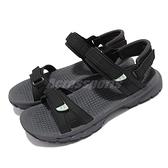 Merrell 涼鞋 Cedrus Convert 3 黑 灰 魔鬼氈 可調整 女鞋 戶外鞋【ACS】 ML036238