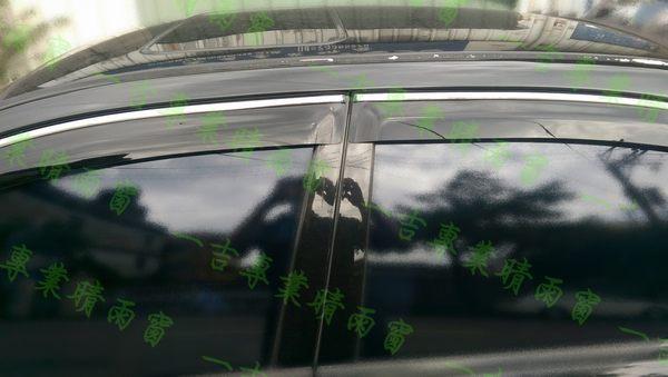【一吉】03-07年 七代Accord K11 ( 鍍鉻飾條款)  晴雨窗/ 台灣製造/ K11晴雨窗 accord晴雨窗 k11 晴雨窗