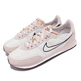 Nike 休閒鞋 Waffle Trainer 2 米白 黑 麂皮 復古 運動鞋 男鞋 【ACS】 DH4390-100
